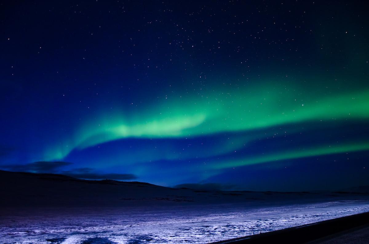 aurora islanda