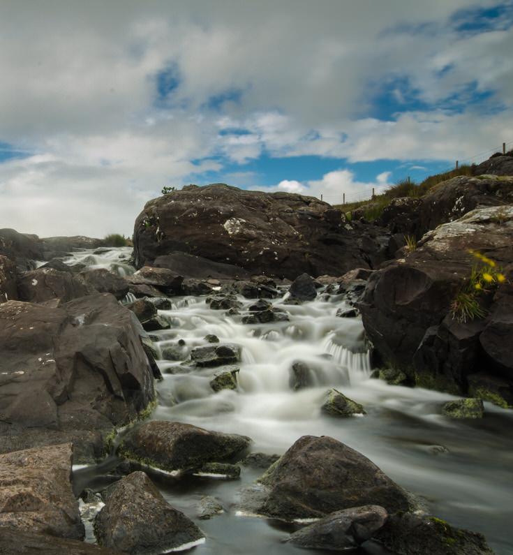 cascata irlandese